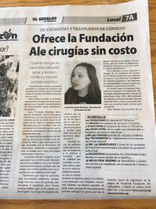 Entrevista a Luisa Montoya en el Heraldo